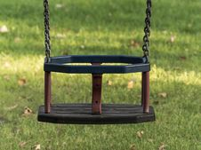 Free Playground Swing Stock Photography - 32874842