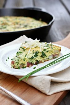 Free Potato And Chard Frittata Royalty Free Stock Images - 32875769