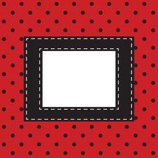 Polka Dot Royalty Free Stock Photo