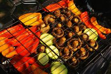 Free Grilled Vegetables Royalty Free Stock Photography - 32878787