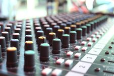 Free Sound Mixer. Stock Image - 32879531