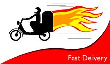 Free Fast Delivery Stock Photography - 32881232