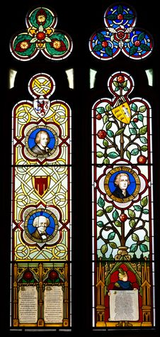 Free A Stained Glass Royalty Free Stock Photography - 32882527