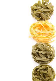 Free Tagliatelle Paglia E Fieno Tipycal Italian Pasta. Royalty Free Stock Photography - 32889897