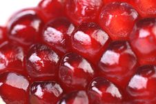 Free Macro View. Ripe Seeds Of Pomegranate. Royalty Free Stock Images - 32890119