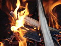Free Camp Fire Royalty Free Stock Image - 3290106