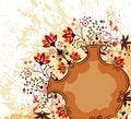 Free Grunge Flower Background Stock Photos - 3297893