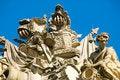 Free Cream-White Stucco Sculptures Royalty Free Stock Photos - 3298228