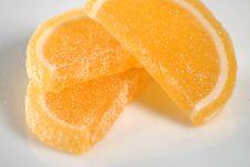Free Orange Slice Candy Stock Images - 3290154