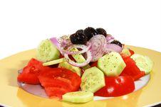 Free Greek Salad Royalty Free Stock Photo - 3290435