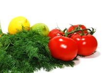 Free Veggies Closeup Royalty Free Stock Image - 3290446