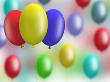 Free Balloons Stock Images - 3291064