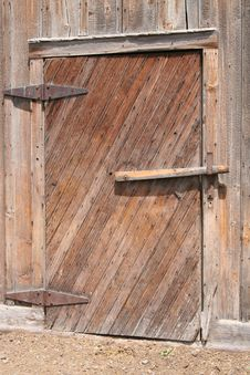 Free Barn- Door Royalty Free Stock Photography - 3292877