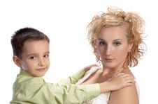 Free Mother And Her Son Stock Image - 3293061