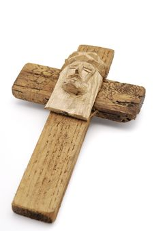 Free Wooden Christian Cross Stock Photography - 3293442