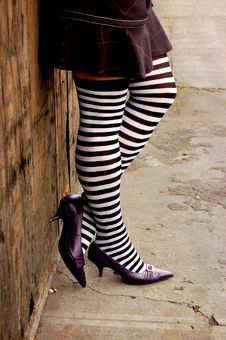 Free Striped Stockings Stock Images - 3293554
