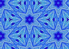 Free Blue Leaf Star A1 Royalty Free Stock Photo - 3293765