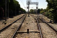 Free Rails Stock Image - 3294511