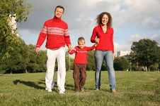 Free Happy Family Stock Photography - 3294542