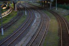 Free Railways Royalty Free Stock Image - 3295246