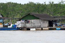 Free Fishing Farm And Boat Stock Photos - 3295493