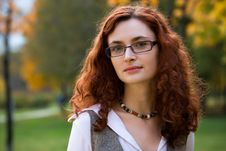 Free Redhair Businesswoman Royalty Free Stock Photography - 3295527