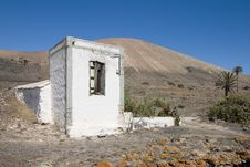 Free Rustic House In Lanzarote Stock Image - 3295831