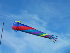 Free Colorful Windsock Royalty Free Stock Photos - 3296138