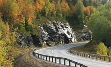 Free Highway At Fall Stock Photos - 3296213