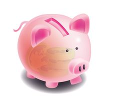 Free Piggy Bank Royalty Free Stock Images - 3296589
