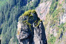 Free Alaskan Crag Royalty Free Stock Photo - 3296865