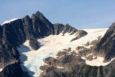 Free Alaskan Glacier Royalty Free Stock Photography - 3296957