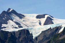 Free Alaskan Glacier Royalty Free Stock Photos - 3296968
