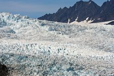 Free Alaskan Glacier Royalty Free Stock Photo - 3296975