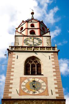 Free Merano Bell Tower, Sud Tirol Royalty Free Stock Photo - 3297665