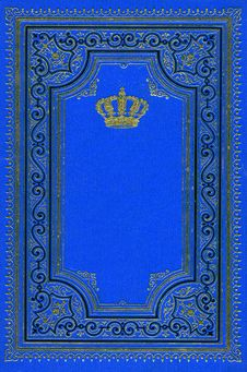 Free Old Ancient Deep Blue Book Royalty Free Stock Photo - 3297795