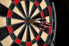 Free Playing Darts Stock Image - 3297851