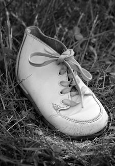 Baby Boots Royalty Free Stock Images