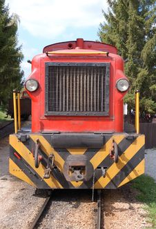 Narrow-Gauge Railway Royalty Free Stock Images