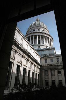 Capitolio, Havana, Cuba Royalty Free Stock Images