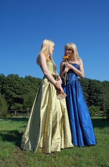 Free Sisters Royalty Free Stock Photography - 3299057