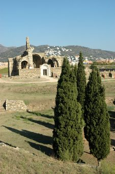Free Ruins Of Church Stock Image - 3299621