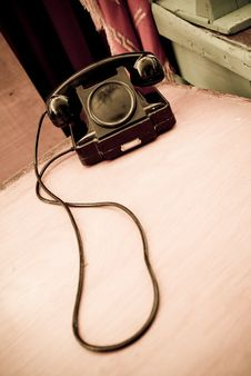 Free Old Telephone Royalty Free Stock Photo - 3299805
