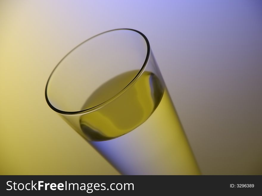 Water in thin glass