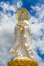 Free Guan Yin Statue In Thai Temple Royalty Free Stock Photo - 32924545