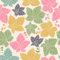 Free Seamless Pattern With Leaves And Berries Royalty Free Stock Photography - 32969647