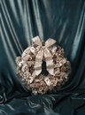 Free Christmas Luxury Wreath Vintage Style Stock Photo - 32977100