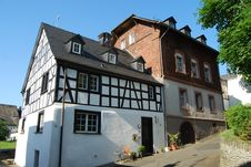 Free Half-timbered House Mosel Stock Image - 32972431