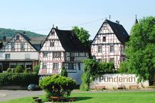 Free Half-timbered Houses Mosel Stock Image - 32972501