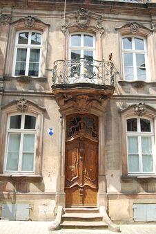 Free Baroque Doorway Germany Royalty Free Stock Photos - 32974138